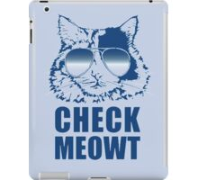 One Cool Cat iPad Case/Skin