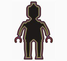 Alien Minifig Xray  One Piece - Short Sleeve