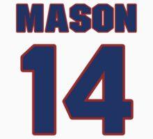 Basketball player Anthony Mason jersey 14 by imsport