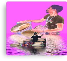 The Drum Boat Canvas Print