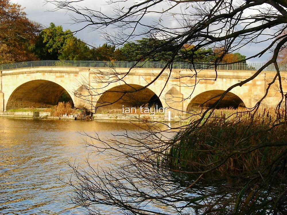ARCHERS  BRIDGE by ian taylor