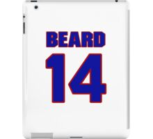 Basketball player Butch Beard jersey 14 iPad Case/Skin