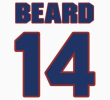 Basketball player Butch Beard jersey 14 by imsport