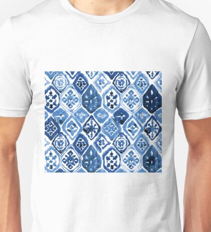 Arabesque tile art Unisex T-Shirt