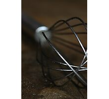 Kitchen Whisk Photographic Print