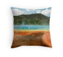 Prismatic Panorama Throw Pillow
