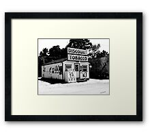 Discount Tobacco Baxter Tennessee  Framed Print
