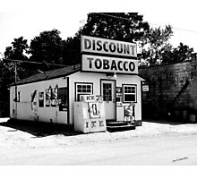 Discount Tobacco Baxter Tennessee  Photographic Print