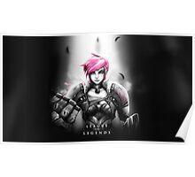 League of Legends - Vi Poster