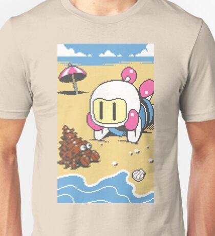 Panic Bomber W - Beach 1 Unisex T-Shirt