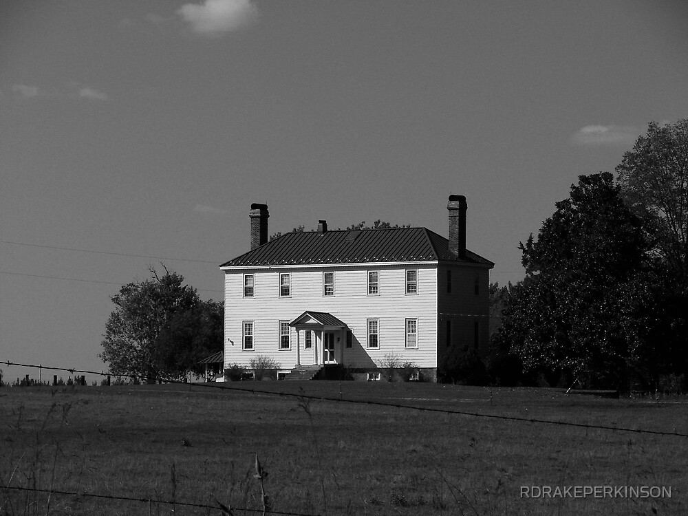 THE OLD FARMHOUE by RDRAKEPERKINSON