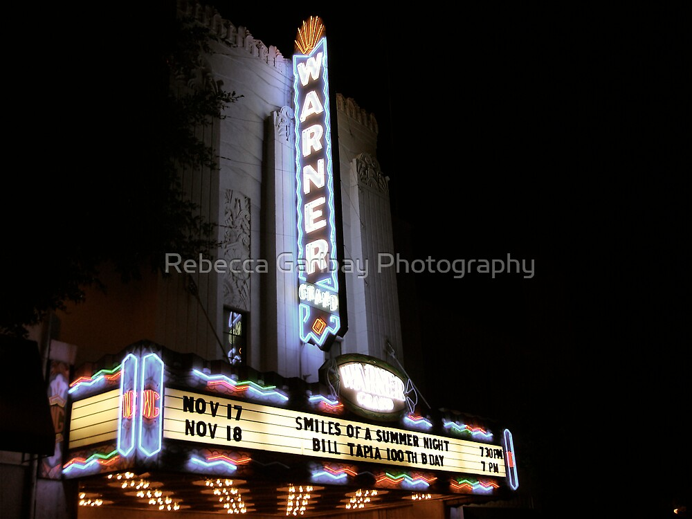 The Warner Theater by Rebecca Garibay Photography