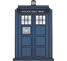 Doctor Who Tardis doors Photographic Print