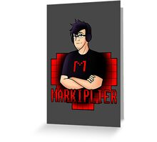 Markiplier - Simplified Greeting Card