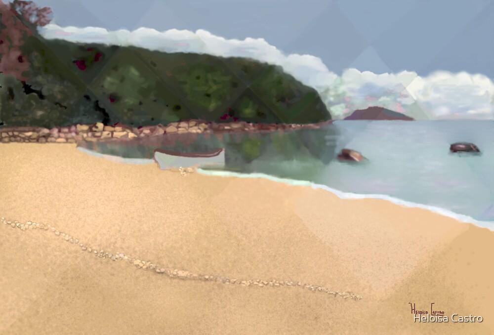 HC 18 Calm Sea by Heloisa Castro