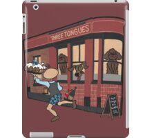 Wildago's Three Tongues iPad Case/Skin