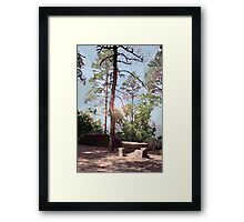 HC 19 Peaceful Place Framed Print