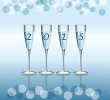 Champagne toast cups by torishaa