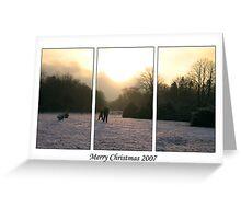 Merry Christmas 2007 Greeting Card