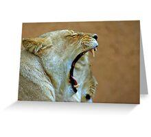Big Mouth Greeting Card