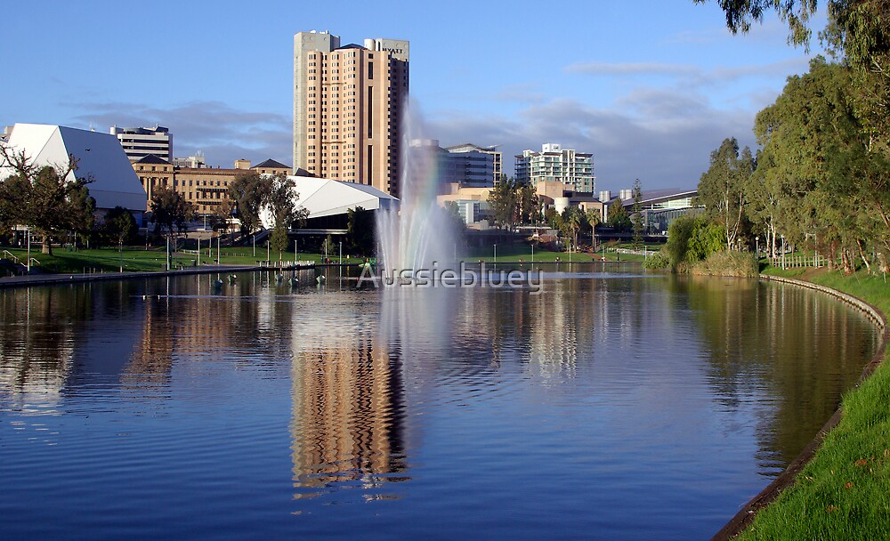 Our lovely city. by Aussiebluey