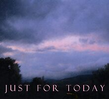 Just For Today Pink Cloud by serenitygifts