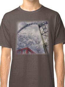 Clouds At Farnborough Zeppelin Hanger Classic T-Shirt