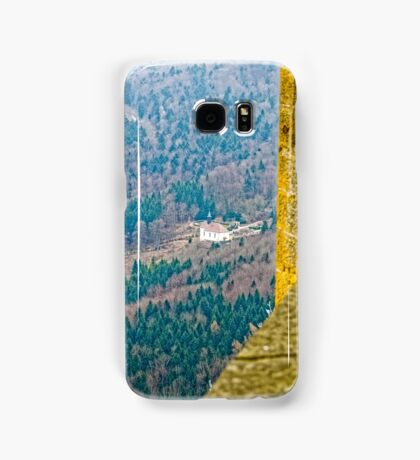 Maria Zell Chapel viewed from Burg Hohenzollern Castle Samsung Galaxy Case/Skin