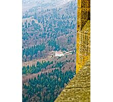 Maria Zell Chapel viewed from Burg Hohenzollern Castle Photographic Print