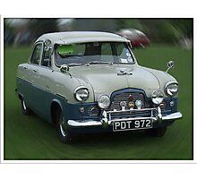 """Classic Car Time Warp"" Photographic Print"