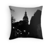 The Maryland State House Throw Pillow