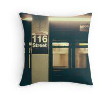 Subway Throw Pillow
