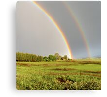 Rainbow in South Africa Canvas Print