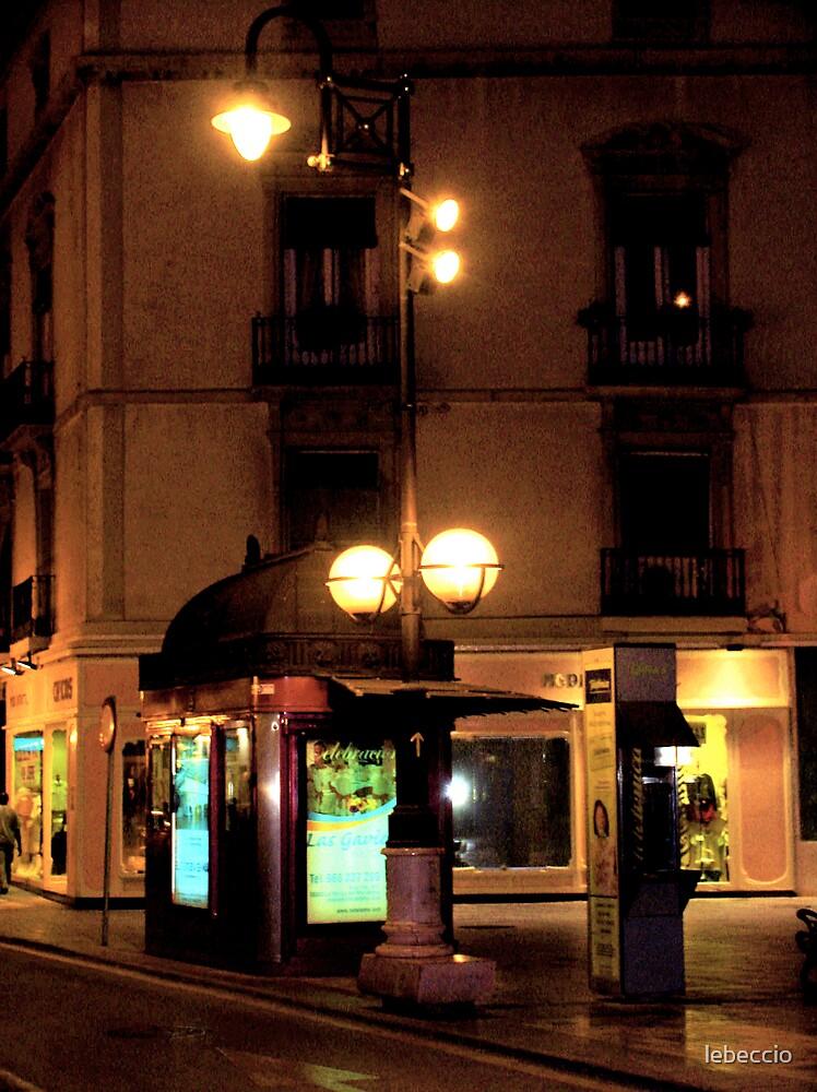 Spanish street by lebeccio
