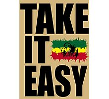 TAKE IT EASY Photographic Print