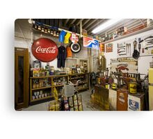 Garage on Route 66 Canvas Print