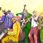 Super Jazz band by Alejandro Silveira