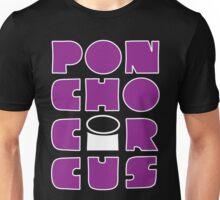 Poncho Circus - Block Purple Unisex T-Shirt