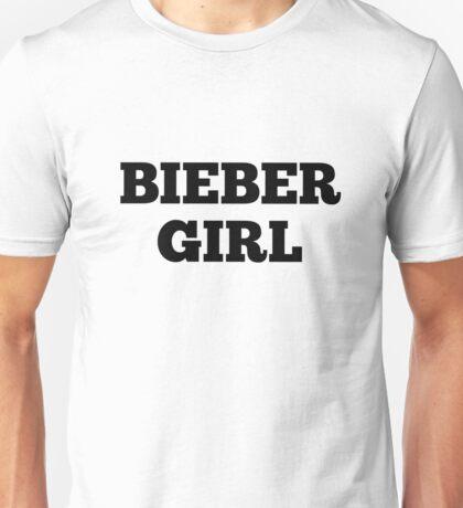 bieber girl Unisex T-Shirt