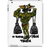 Magic The Gathering Funny Goblin Tokens iPad Case/Skin