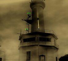 Fog Light by Steven  Agius