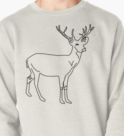 Antlers Pullover