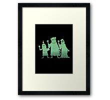 Hitch-hiking Christmas Ghosts Framed Print