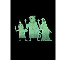 Hitch-hiking Christmas Ghosts Photographic Print