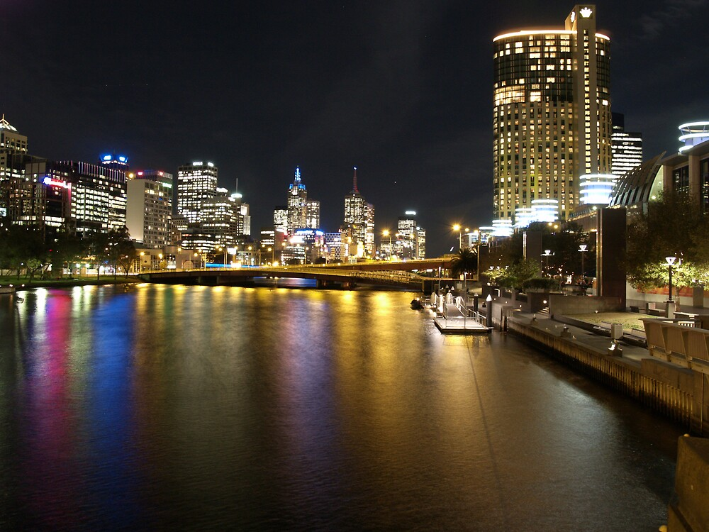 Melbourne in Colour by focus
