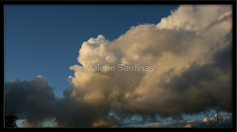 Clouds by Valerie Sardinas