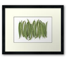 Green Beans as a Healthy and Nutritious Vegetable Framed Print