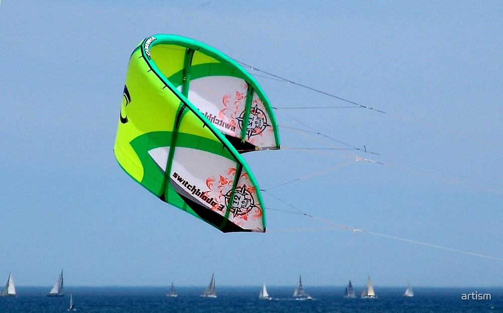 Kite by artism