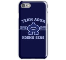 Team Aqua iPhone Case/Skin