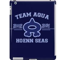 Team Aqua iPad Case/Skin